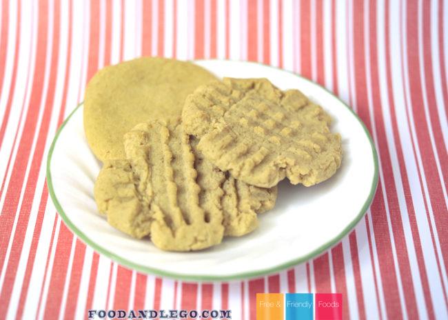 Corn Free Peanut Butter Cookies