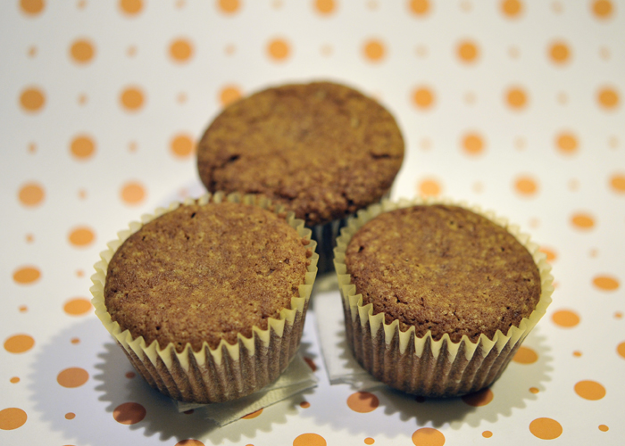 Corn free pumpkin bread cupcakes