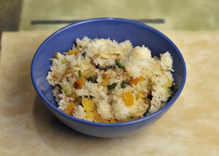 Corn Free crab dish