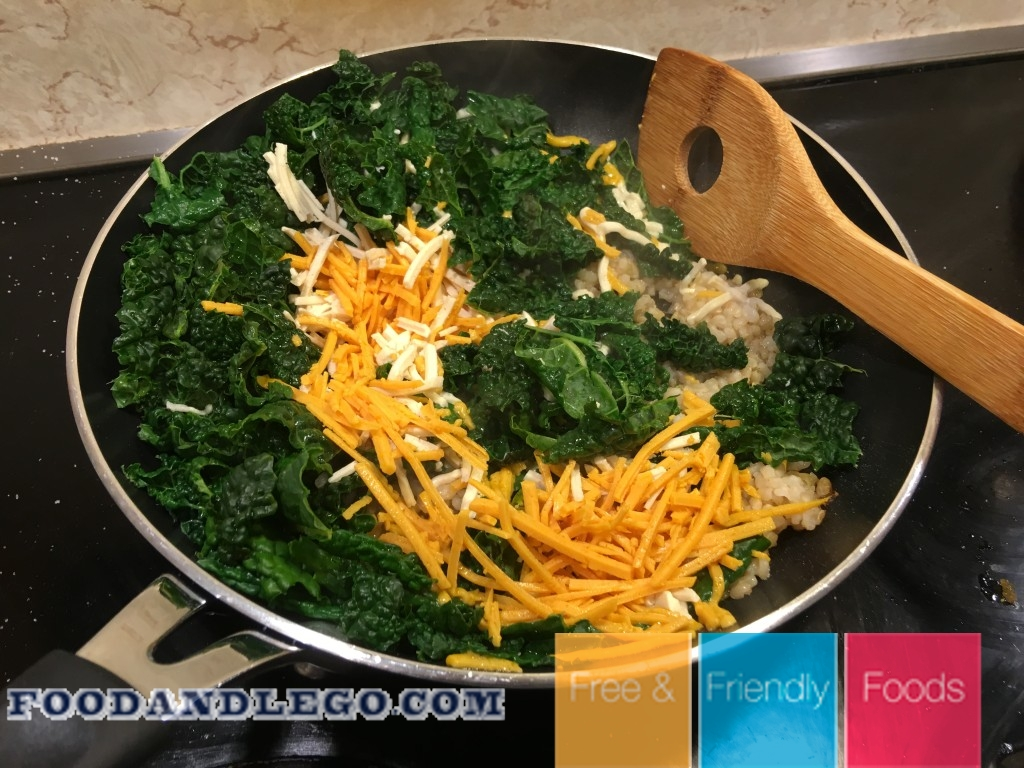 Free and Friendly Foods Organic Cheesy Kale and Rice