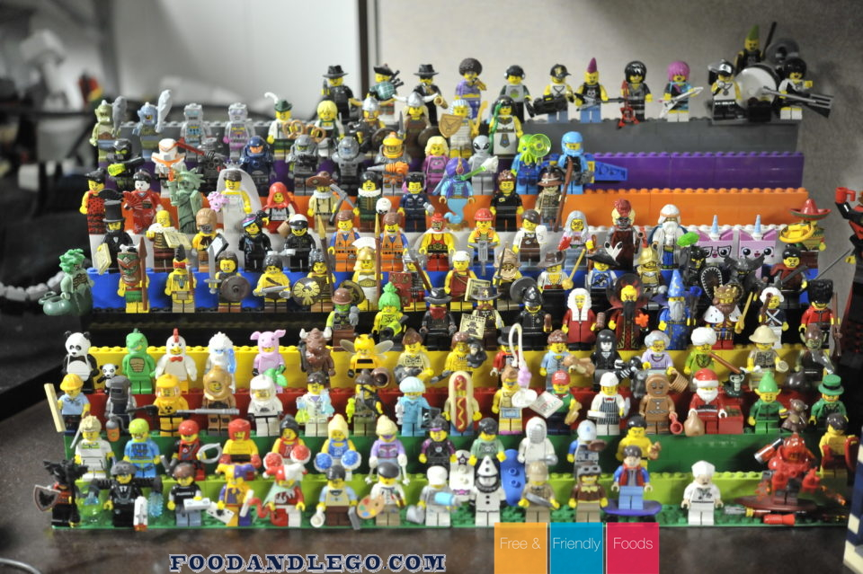 Free and Friendly Foods LEGO Minifigures