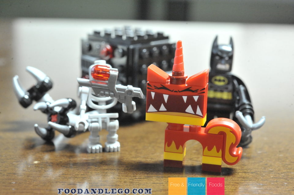 Free and Friendly Foods LEGO Review Angry Kitty