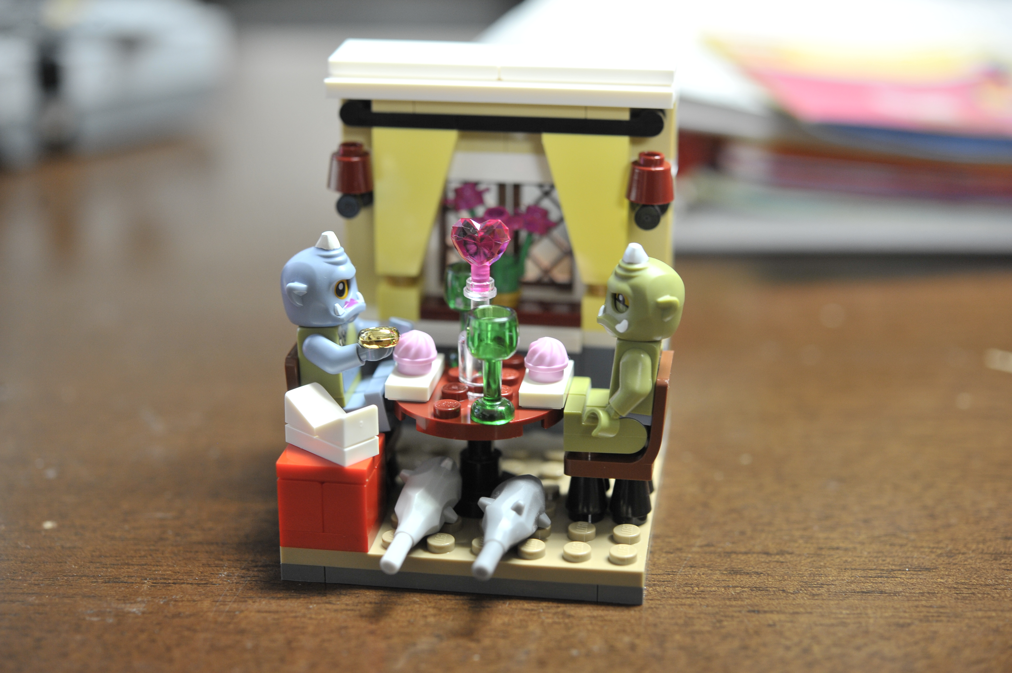 LEGO Moc Oger Love by The Allergy Chef