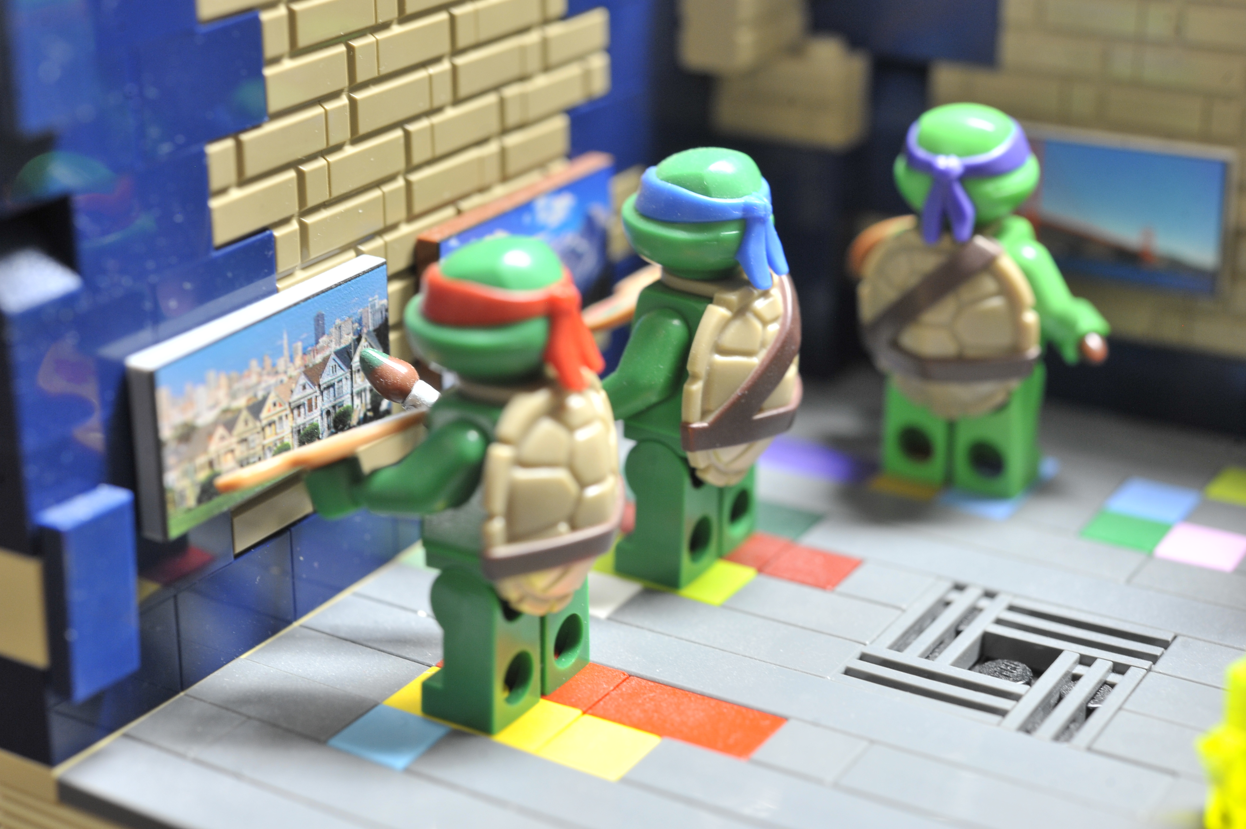 LEGO Moc Teenage Mutant Ninga Turtles by The Allergy Chef