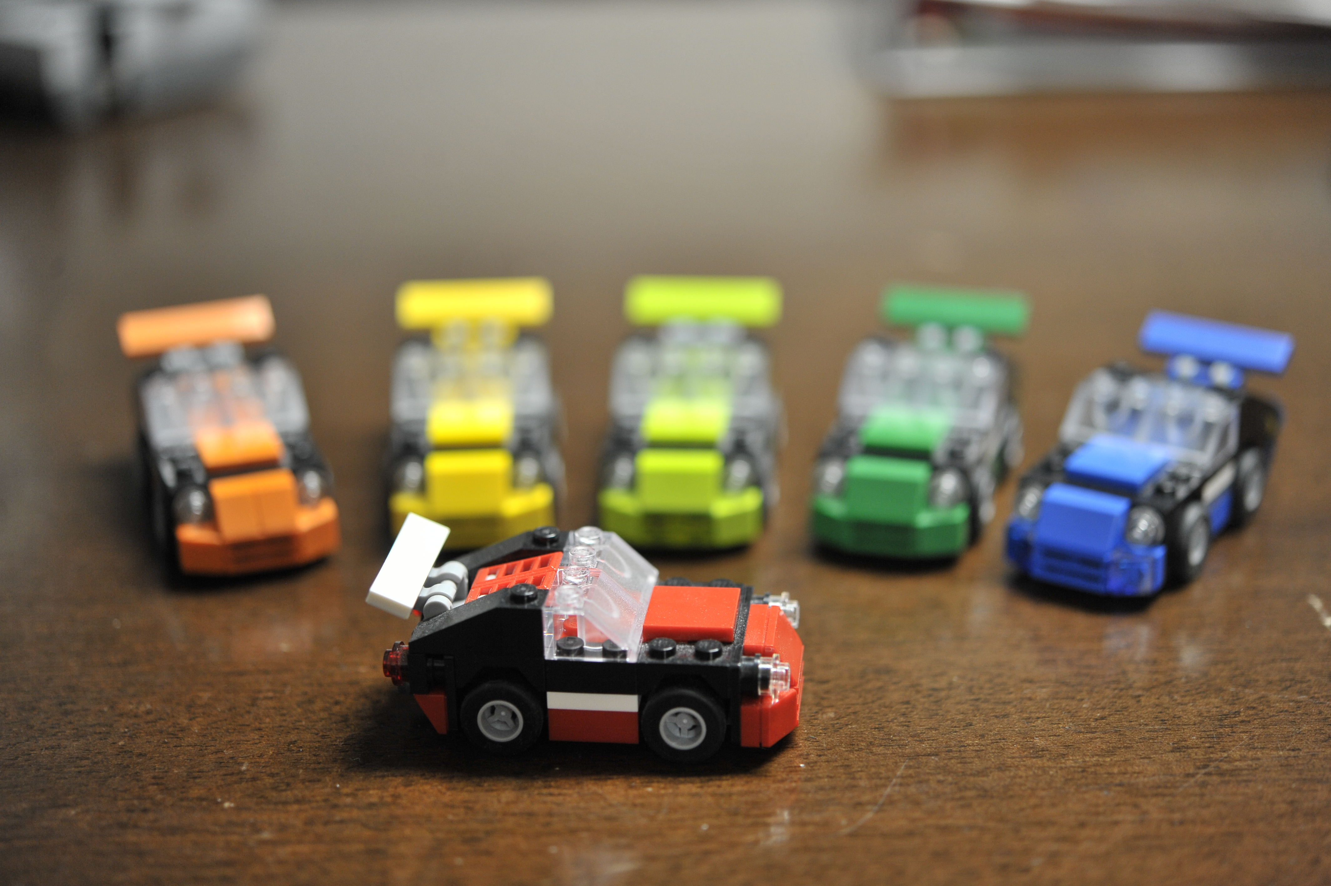 LEGO Moc Rainbow of Cars by The Allergy Chef