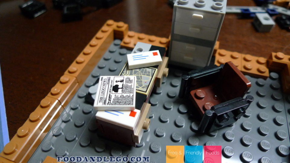 Free and Friendly Foods LEGO Review Detective Building