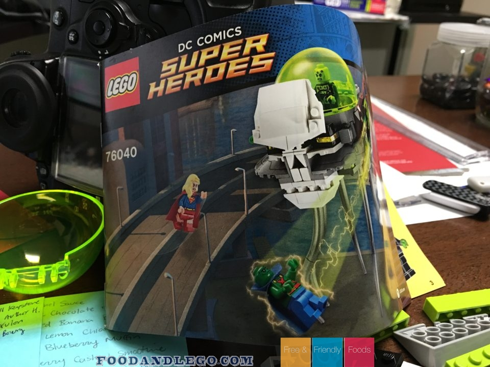 Free and Friendly Foods LEGO Review Brainiac Attack