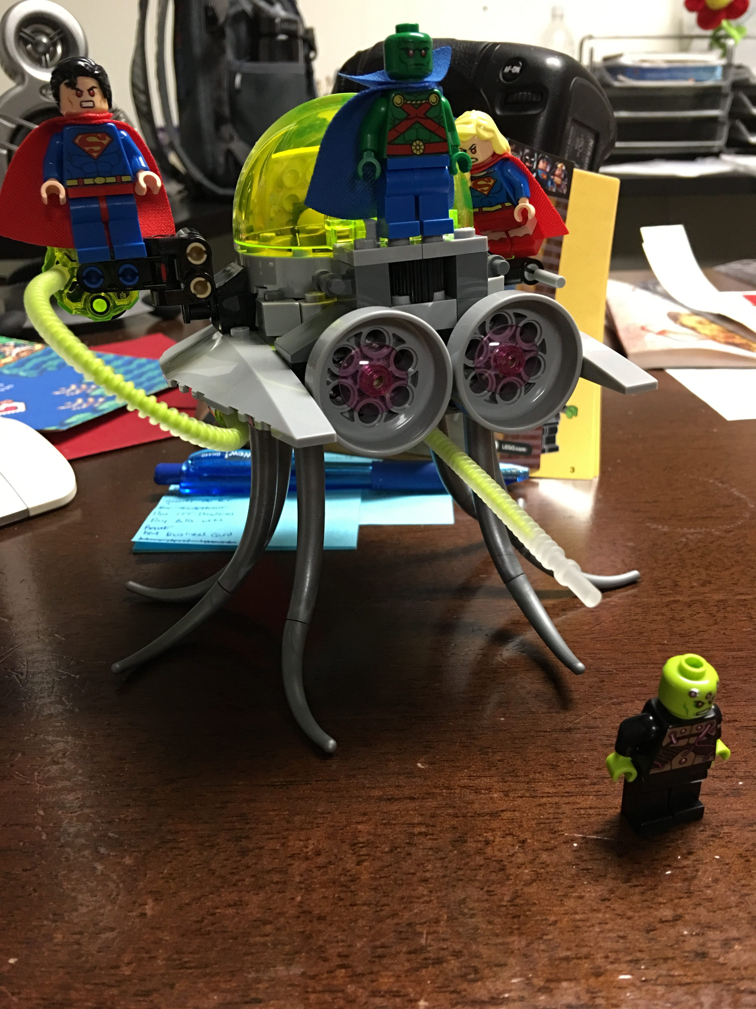 Superman vs Brainiac LEGO Review by The Allergy Chef