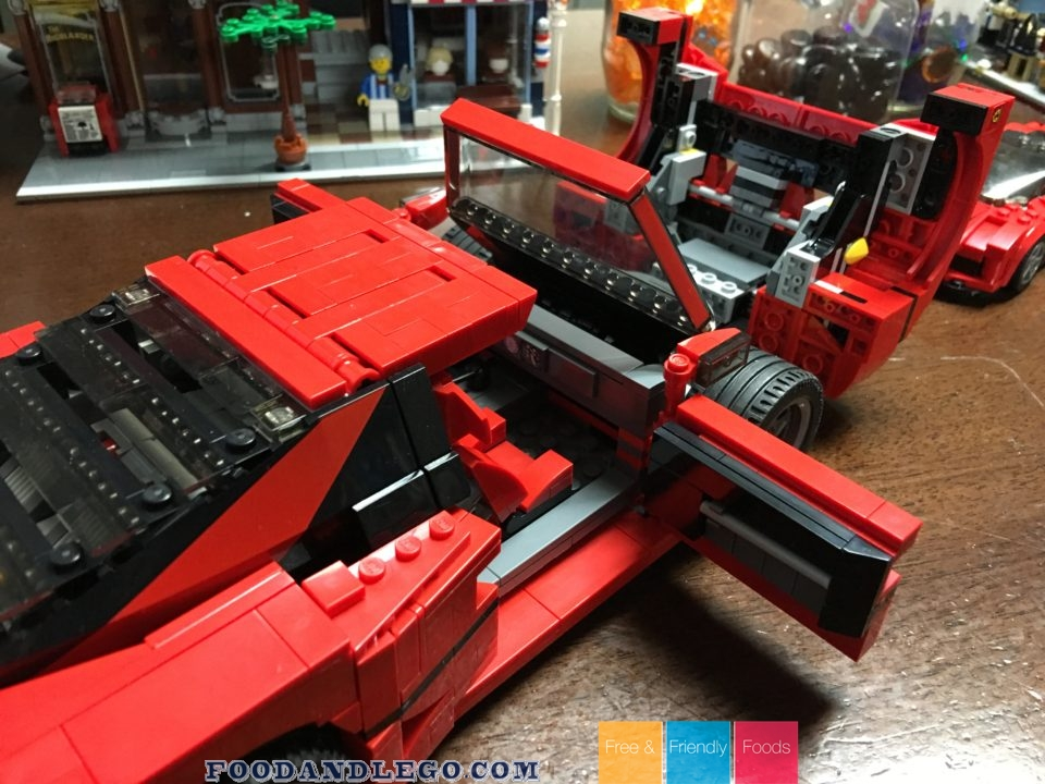 Free and Friendly Foods LEGO Review Ferrari and Speed Champions