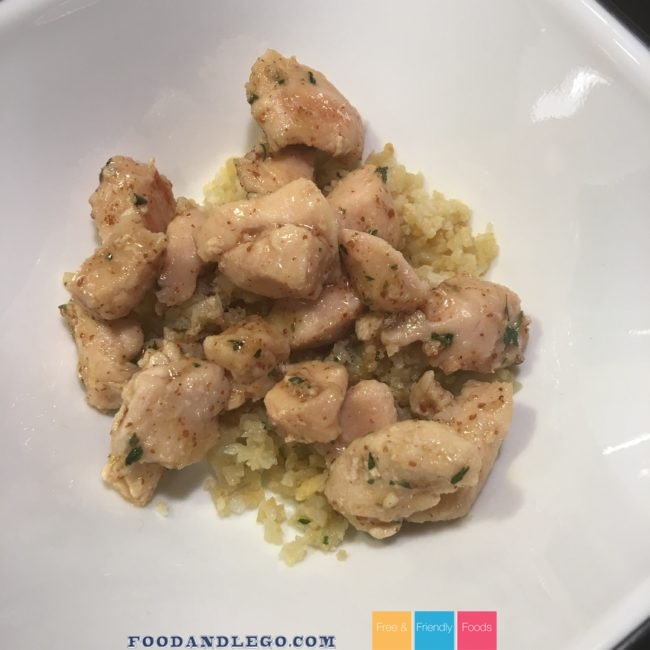 Free and Friendly Foods Paleo & GAPs Honey Mustard Chicken