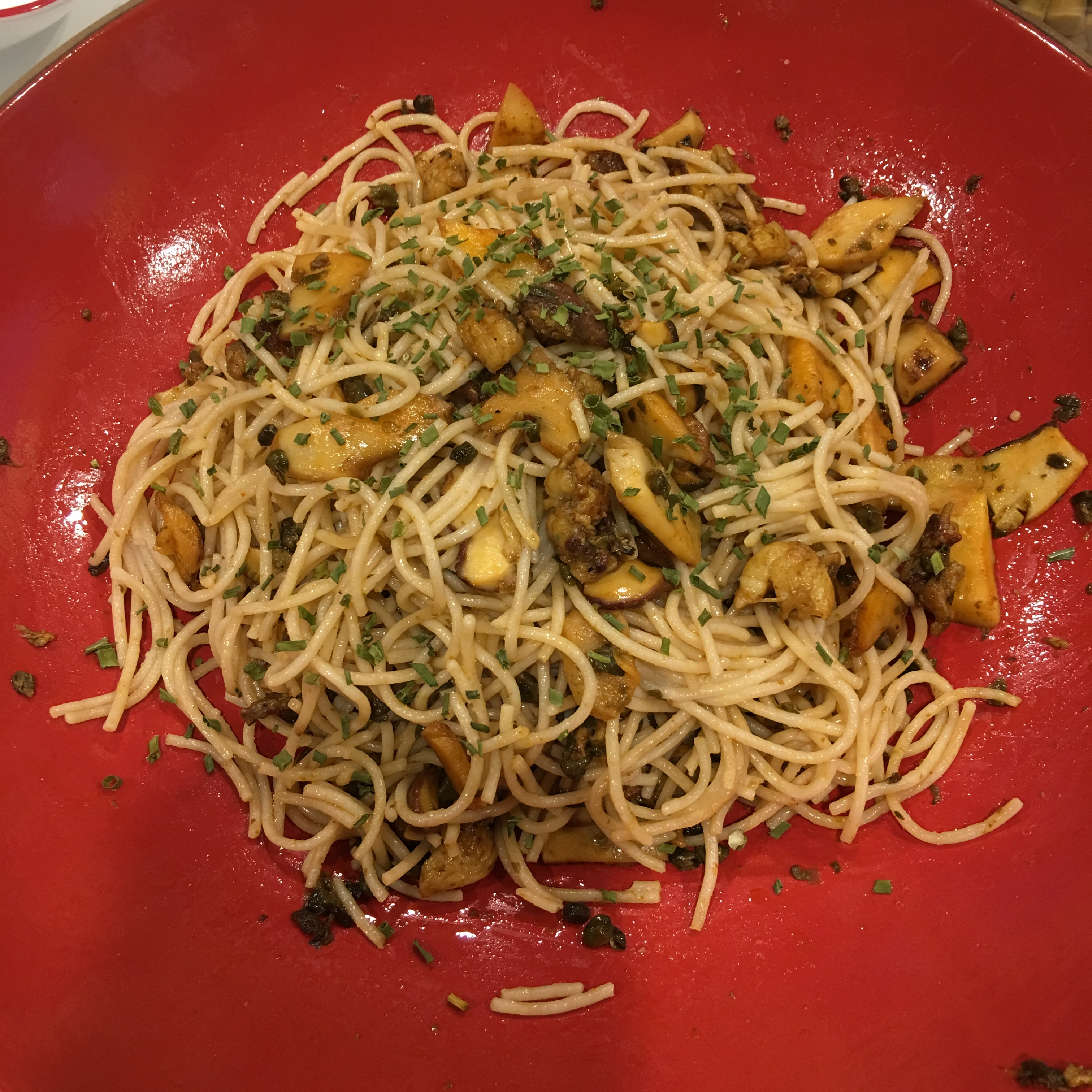 Free and Friendly Foods Lobster & Mushroom Pasta