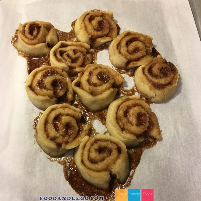 Free and Friendly Foods Cinnamon Rolls