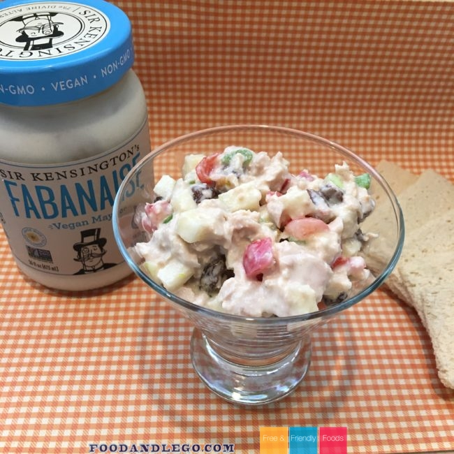 Free and Friendly Foods Festive Tuna Salad