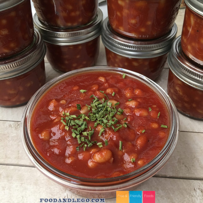Free and Friendly Foods Vegan & GAPs Baked Beans