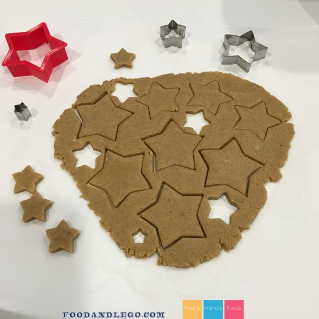 Free and Friendly Foods Paleo Star Cookies