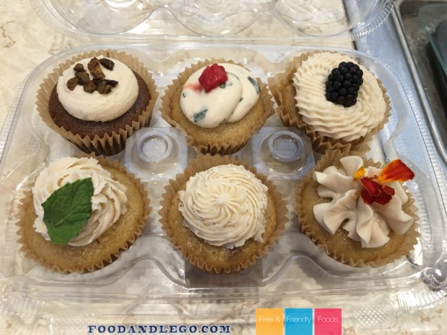 Free and Friendly Foods Cupcakes