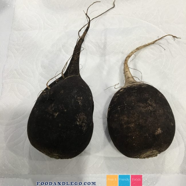 Free and Friendly Foods Stuffed Breakfast Black Radish