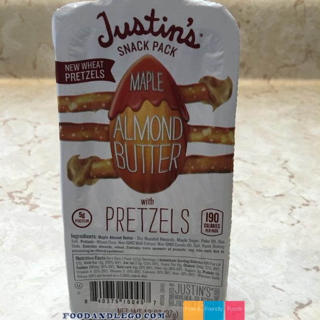Free and Friendly Foods Justin's Product Review