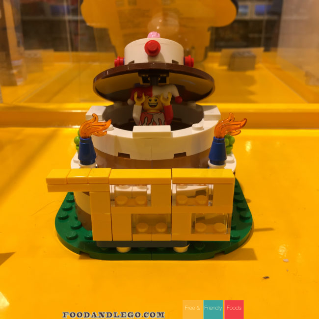 Free and Friendly Foods Trip to the LEGO Store