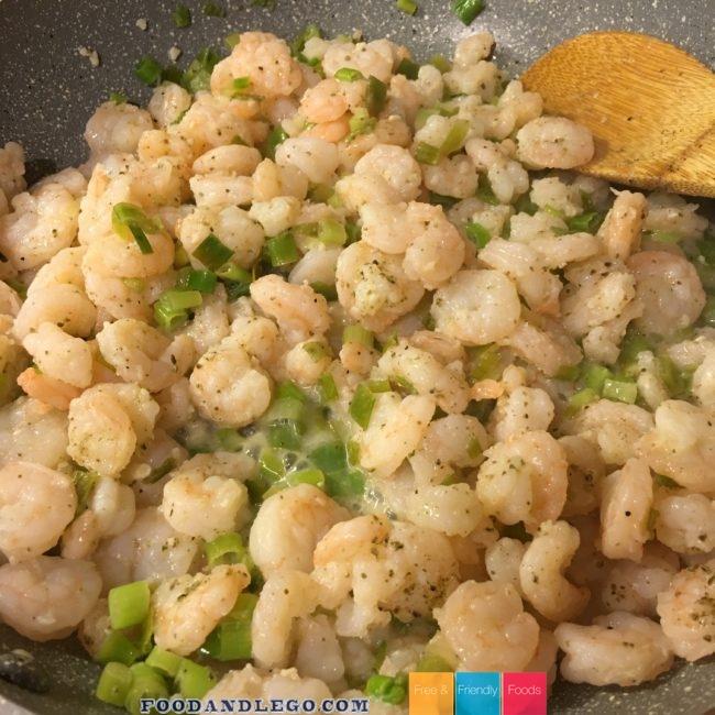 Free and Friendly Foods Lemon Garlic Shrimp