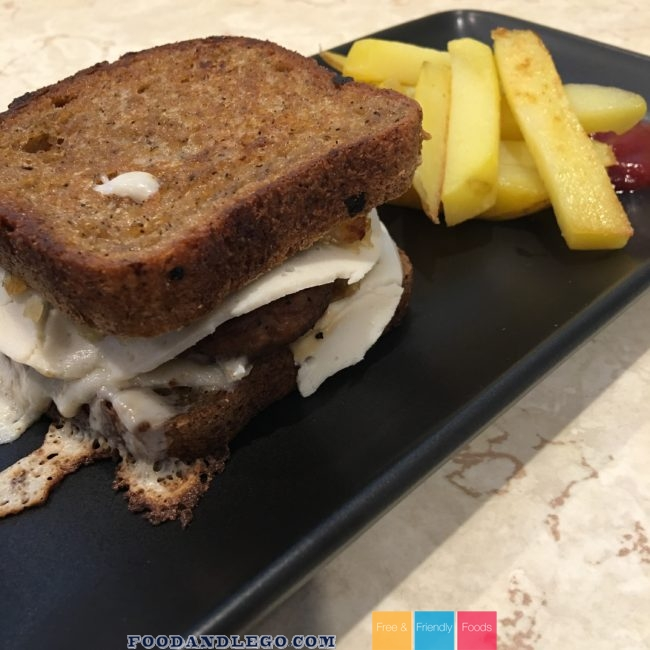 Free and Friendly Foods Patty Melts