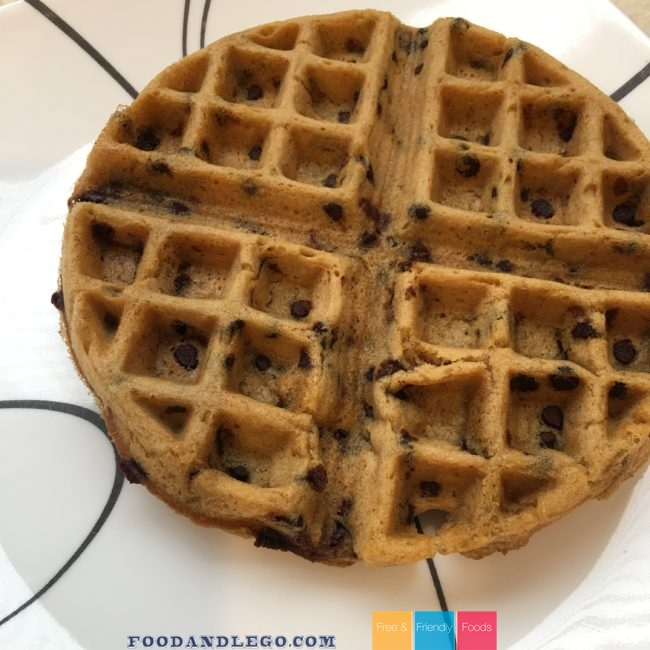 Free and Friendly Foods Chocolate Chip Waffles