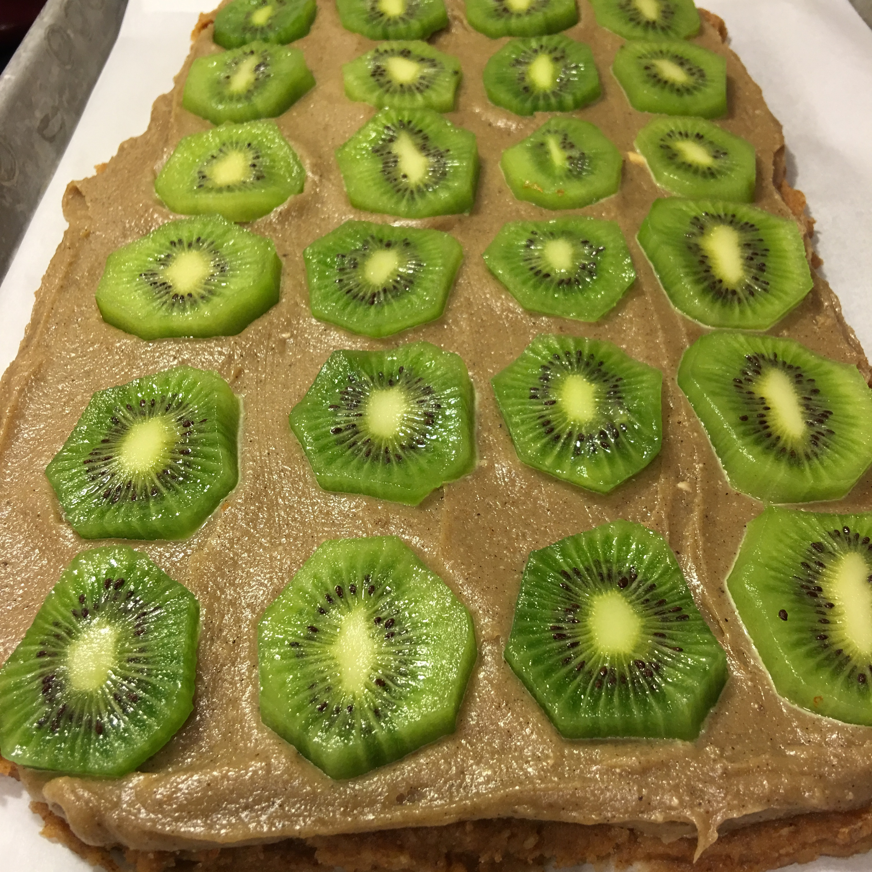 Free and Friendly Foods Kiwi Lime Paleo Pie