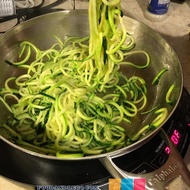 Free and Friendly Foods White Fish & Zoodles