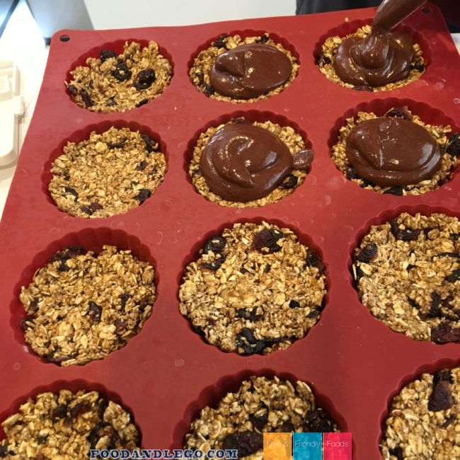 Free and Friendly Foods Cranberry Oat Chocolate Pecan Tart