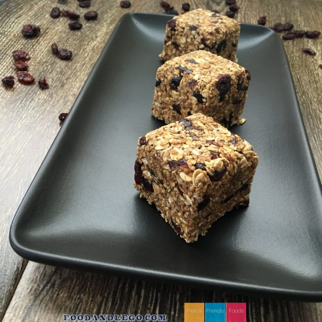 Free and Friendly Foods Cranberry Oats