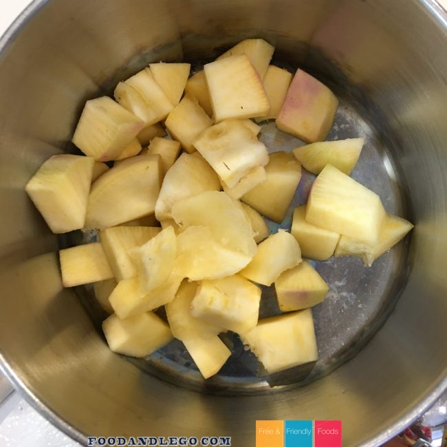 Free and Friendly Foods Rutabaga & Pork