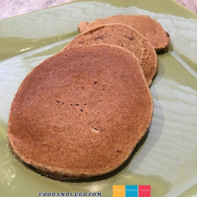 Free and Friendly Foods Paleo Pancakes