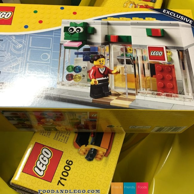 Free and Friendly Foods LEGO Store Grand Opening