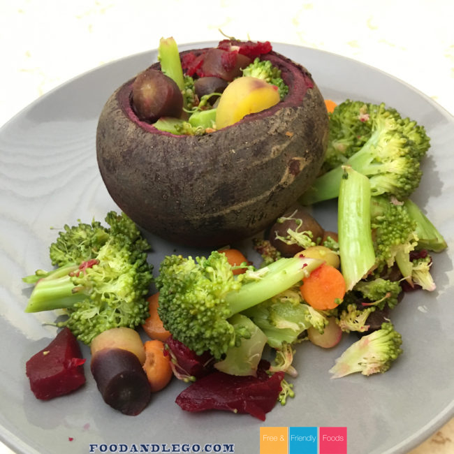Free and Friendly Foods Stuffed Beet