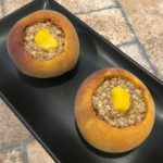 Organic Stuffed Peaches