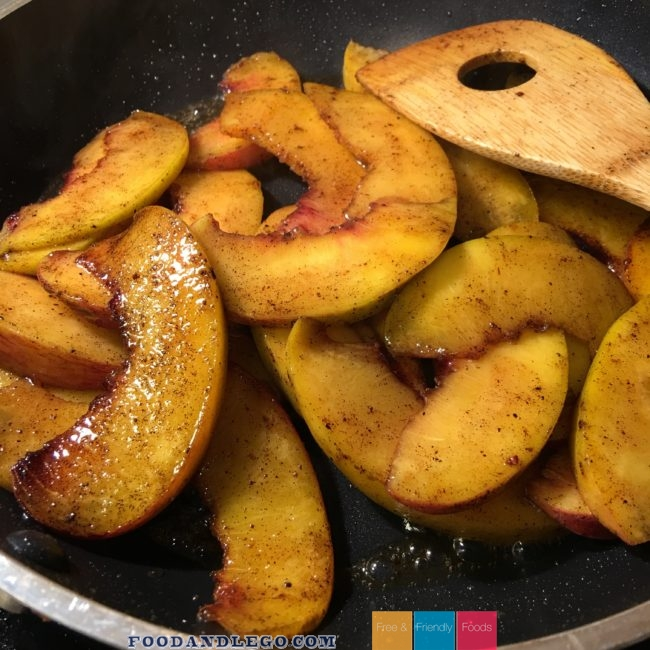Free and Friendly Foods Organic Paleo Peaches