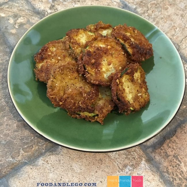 Free and Friendly Foods Paleo Fried Zucchini