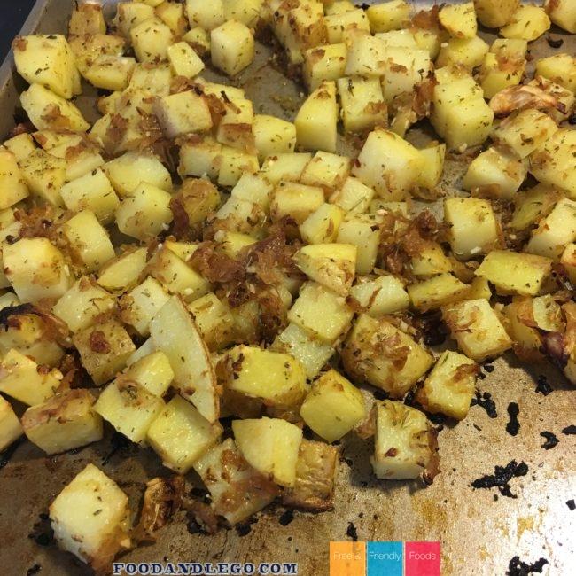 Free and Friendly Foods Organic Seasoned Potatoes