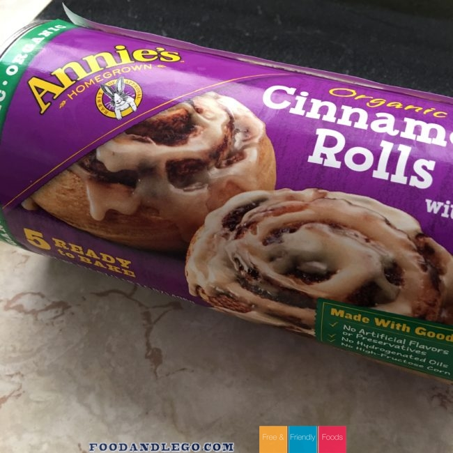 Free and Friendly Foods Annie's Organic Cinnamon Rolls Review