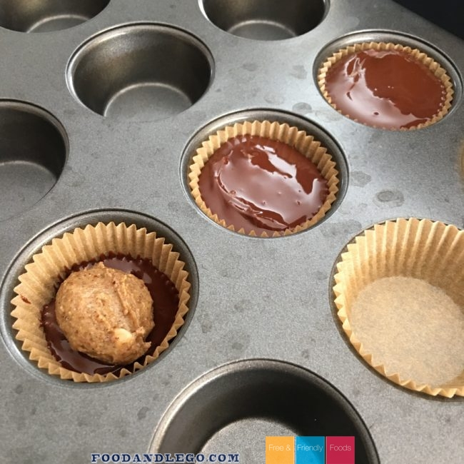 Free and Friendly Foods Almond Butter Cups
