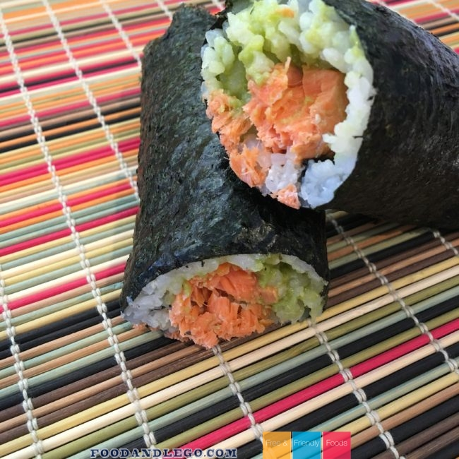 Free and Friendly Foods Homemade Sushi Adventure