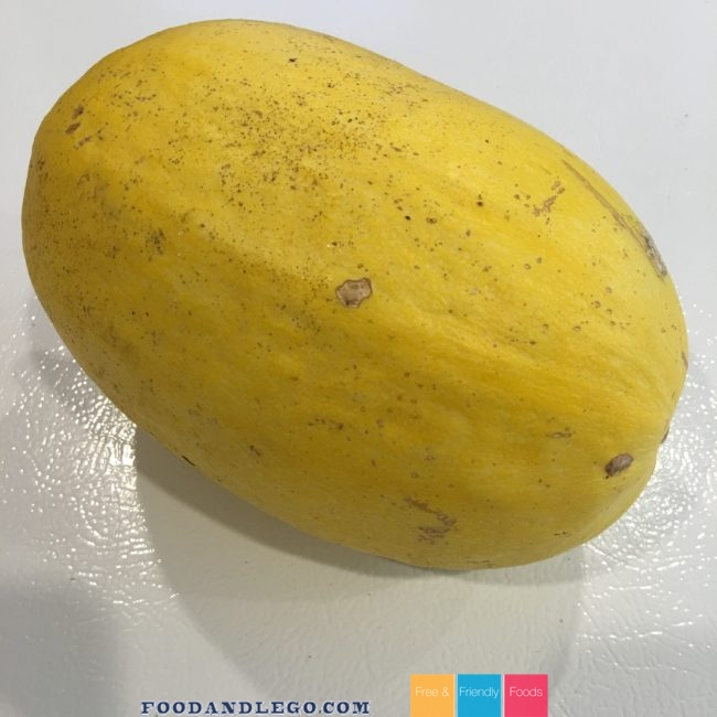 Free and Friendly Foods Creamy Pumpkin & Spaghetti Squash Pasta