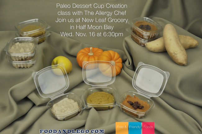 The Allergy Chef teaches Paleo Dessert Class