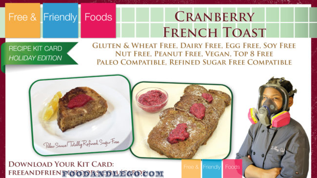 Cranberry French Toast Cooking Class