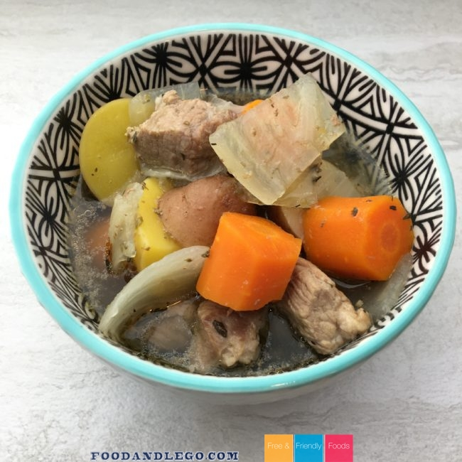 Free and Friendly Foods Simple Pork Stew by The Allergy Chef