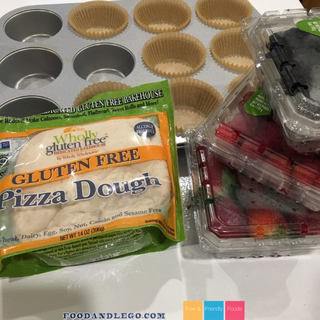 Allergy Free Fruit Pizza Cups by The Allergy Chef