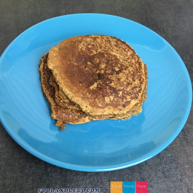 Free and Friendly Foods Corn Free Apple Pancakes by The Allergy Chef