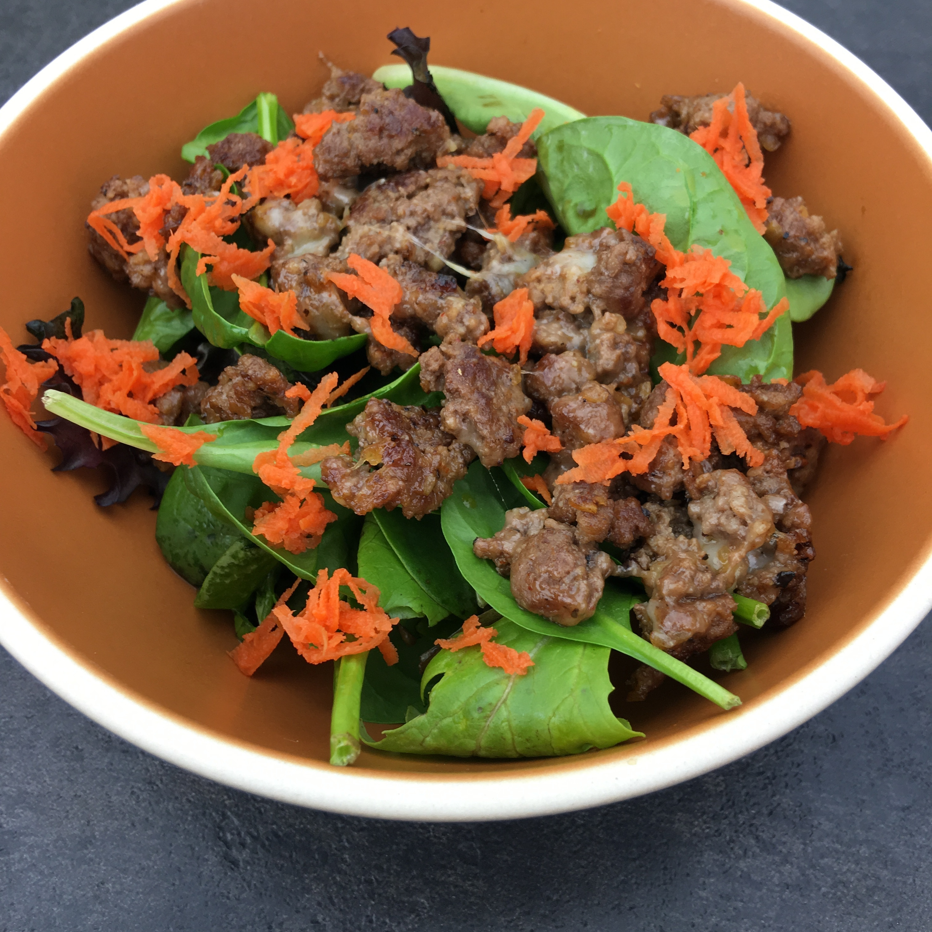 Free and Friendly Foods Cheeseburger Salad by The Allergy Chef