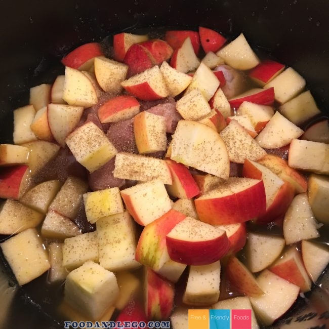 Allergy Free, Organic Chicken Apple Rice by The Allergy Chef