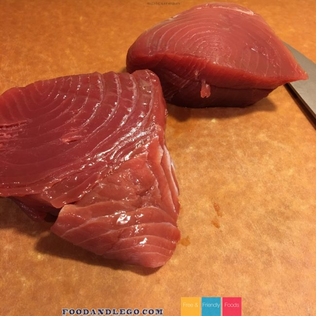 Gluten Free, Dairy Free, Paleo Maple Ahi by The Allergy Chef